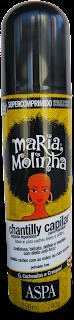 Resenha Leave in Chantilly (textura mousse) Cachos Leves E Soltos Maria Molinha - Aspa (Liberado para Low Poo)