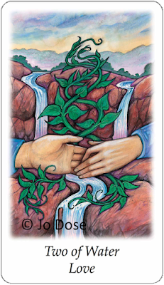 Vision Quest Tarot Two of Water