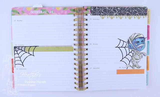 Heather's Hobbie Haven - Planner Embellishment Oct 22-28