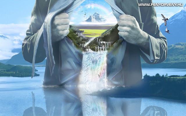 Teremtő képzelet/Vizualizáció: Belső szentélyed megteremtése
