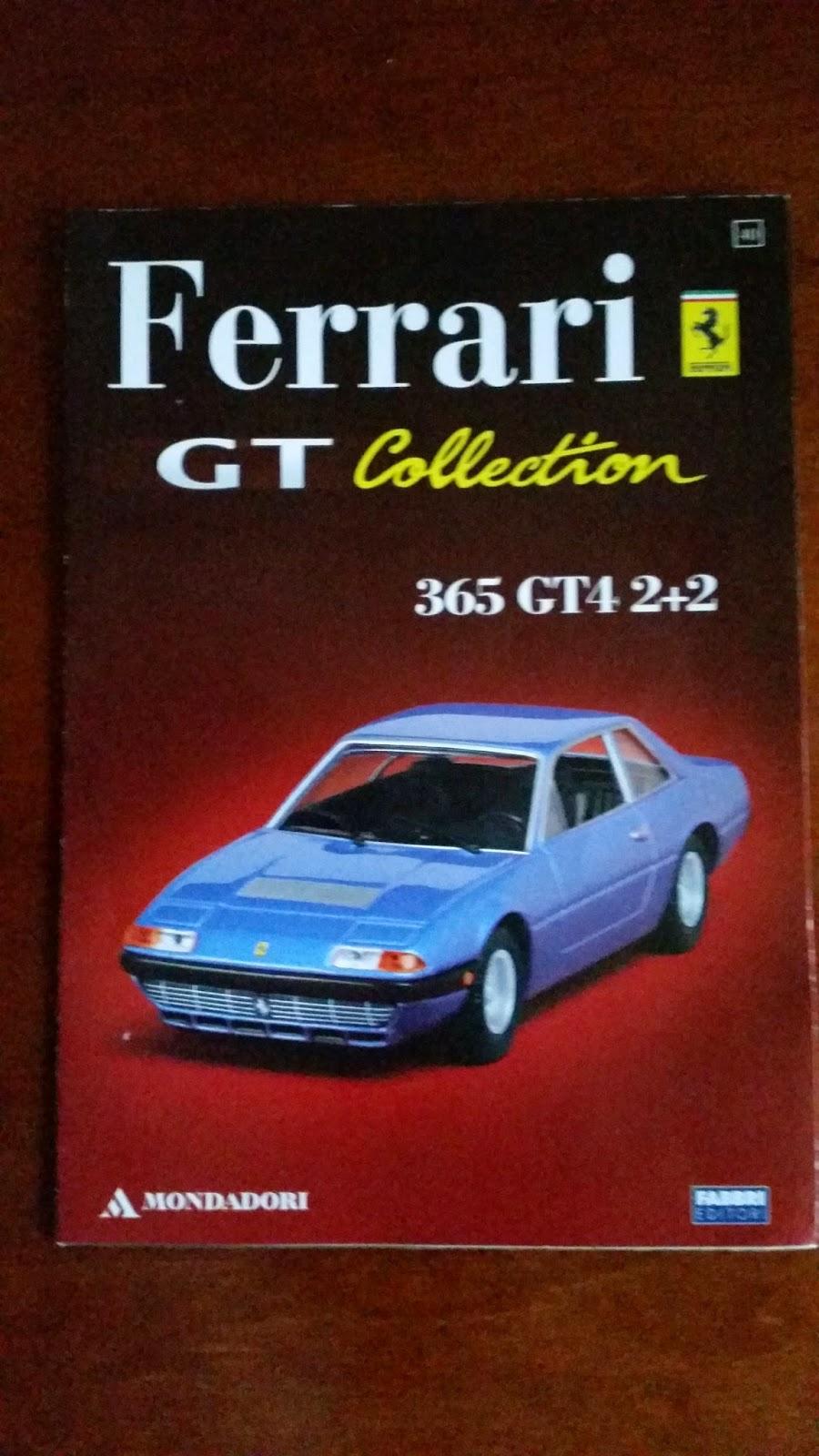 ferrari 400 ferrari gt collection by mondadori ferrari 365 gt4 2 2 1 43 scale model. Black Bedroom Furniture Sets. Home Design Ideas