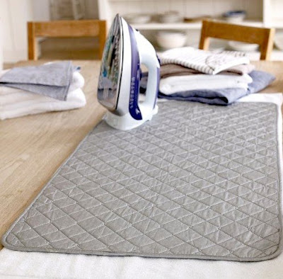 Top Dorm Room Accessories to Keep You Organized - portable ironing mat :: OrganizingMadeFun.com