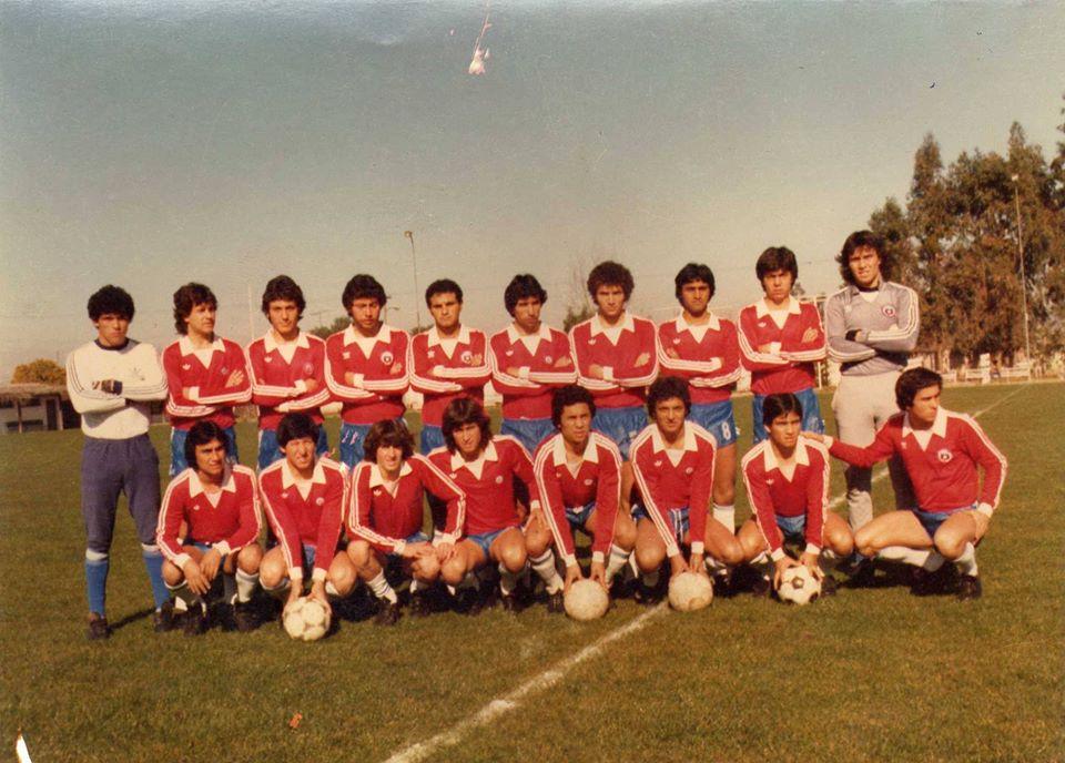Jugadores de selección chilena en Juegos Panamericanos de 1983