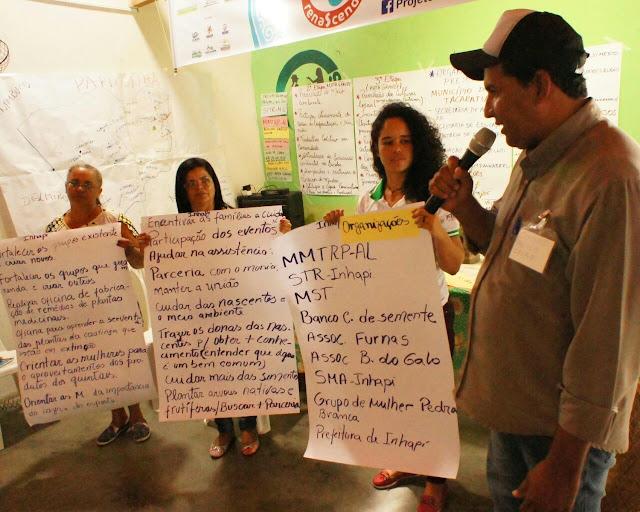 Inhapi sedia seminário local de sensibilização das comunidades para causa ambiental e cuidados hídricos