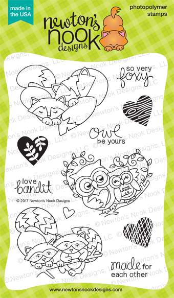 Woodland Duos stamp set by Newton's Nook Designs #newtonsnook