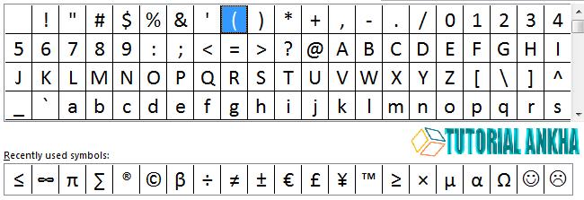 Cara mudah menambahkan Syimbol di Microsoft Word