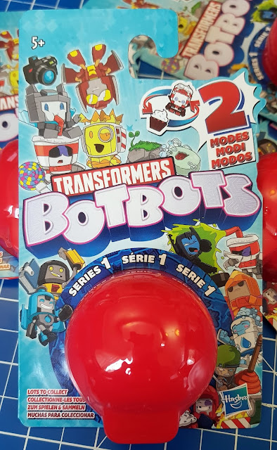 Transformers Bot Bots review single pack blister packaging