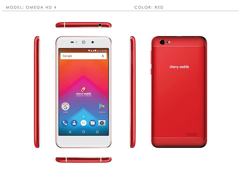 Cherry Mobile launches Omega HD 4 with 5.5-inch HD screen for PHP 3,499