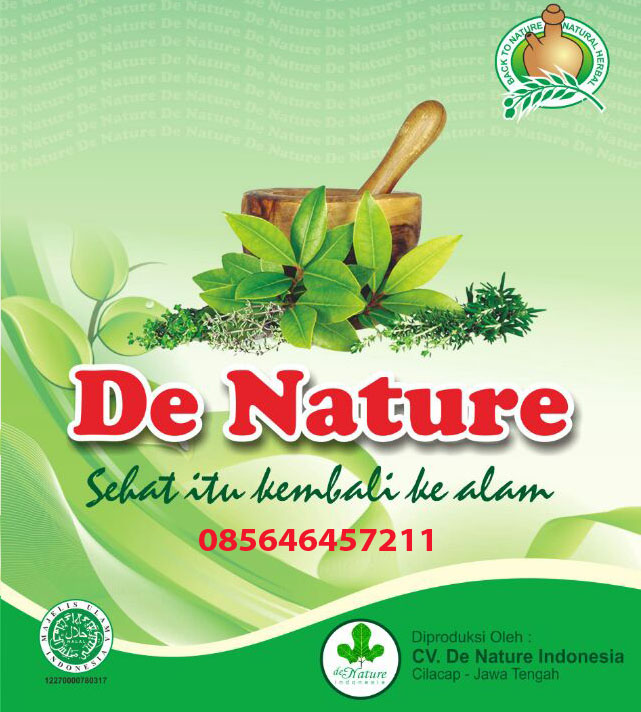 Obat Herbal De Nature Asli Produk Indonesia