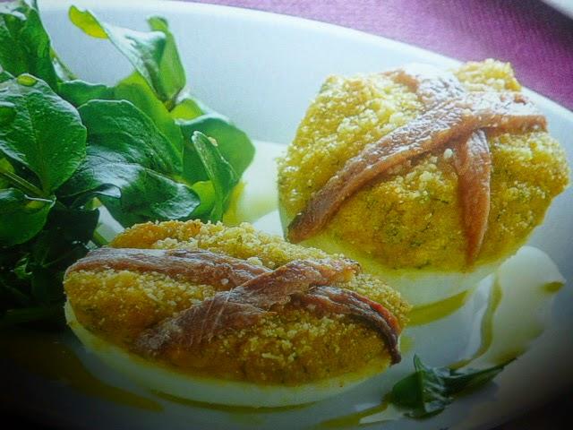 La cucina russa uova ripiene gratinate for Cucina russa
