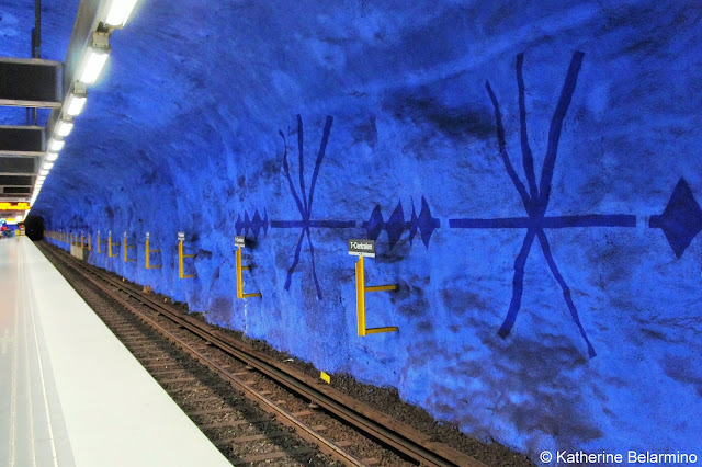 T-Centralen Subway Art Things to Do in Stockholm Sweden