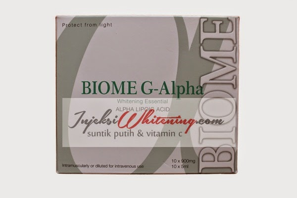 Biome G-Alpha Whitening Essential, Biome G Alpha Original, biome g alpha injeksi, biome g alpha whitening, biome g alpha injection