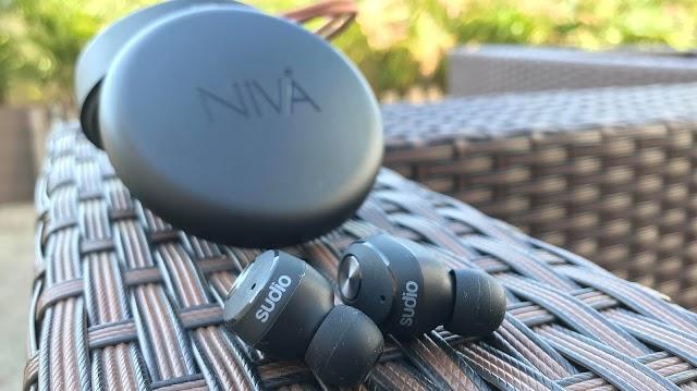 【開箱+優惠碼】「無線」最自由 Sudio最新型號NIVA運動藍芽入耳式耳機