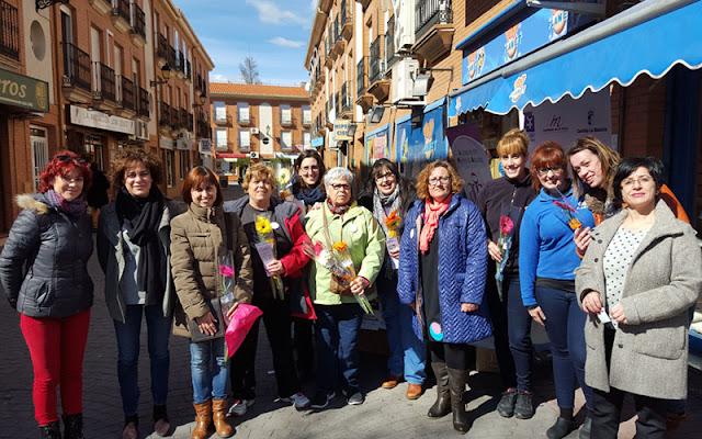 El martes, 8 de marzo, el municipio de Illescas acogió diversas actividades con el objetivo de hacer visible el mensaje de igualdad por el Día Internacional de la Mujer. IMAGEN COMUNICACION ILLESCAS