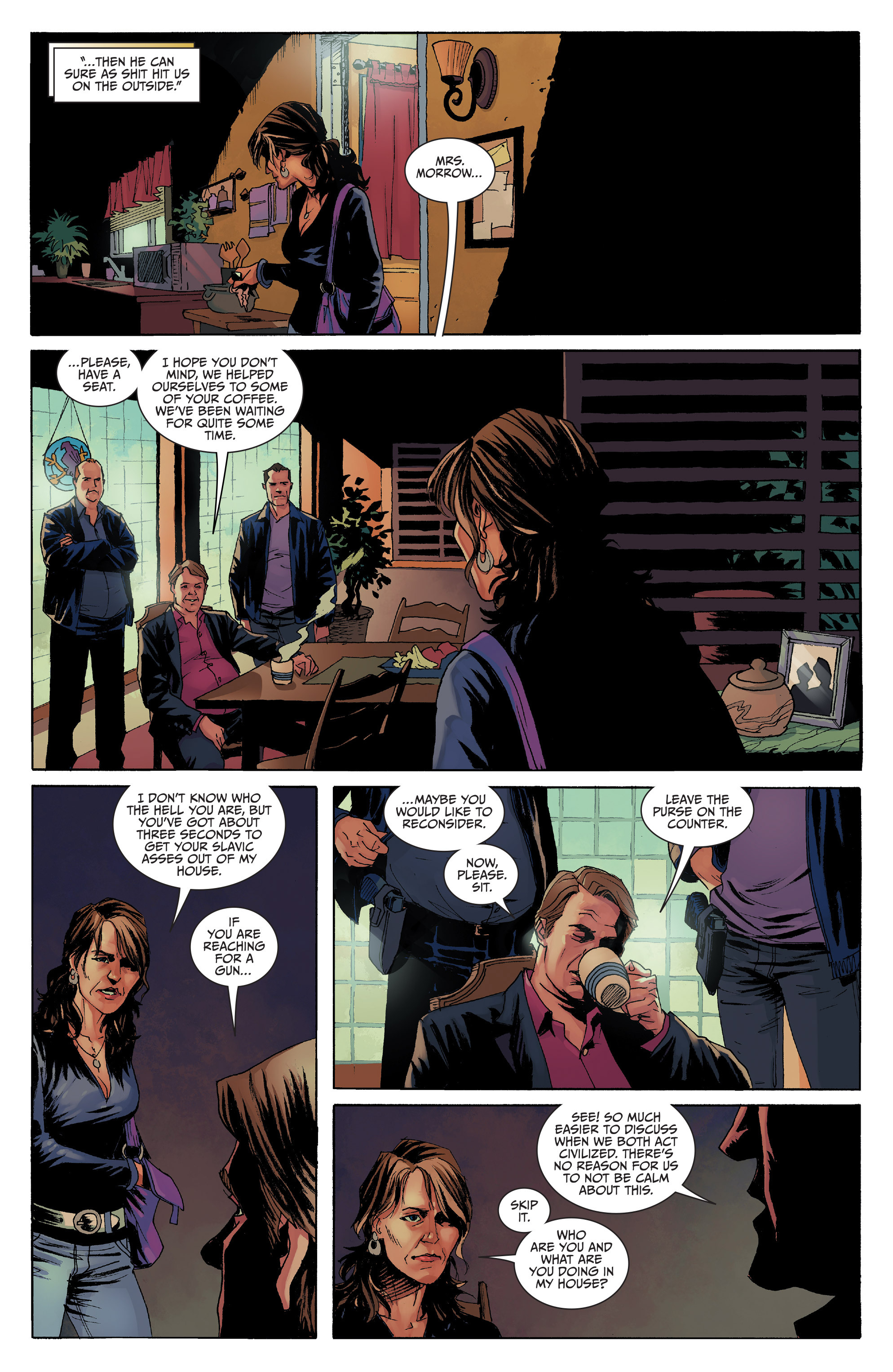 Read online Sons of Anarchy comic -  Issue #8 - 13