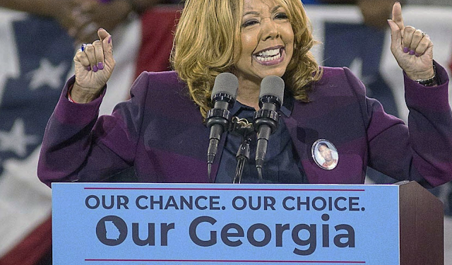 Rep. Lucy McBath (D-Georgia) the target of some creative trolling by GOP over her widely disputed claim that she actually lives in Georgia, after receiving and signing for a gift basket the Republicans sent to her address -- in Tennessee