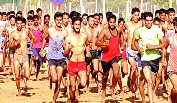 Ballia Army Rally, Indian Army Rally, Open Bharti Rally
