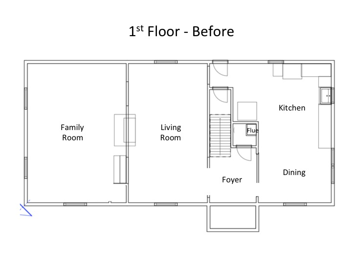 The Only Thing Thatu0027s A Bit Unusual Is The Sunken Family Room. With 4 Steps  Down, It Feels Separate From The Rest Of The House. So I Really Want To  Change ...