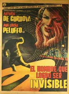 El hombre que logró ser Invisible, 1958 (Alfredo B. Crevenna)