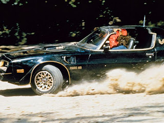 Smokey and the Bandit 1977 Trans Am chase scene