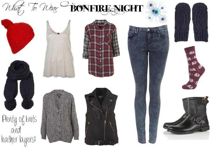 2ac1b098921 Señorita Glamourista: What To Wear: Bonfire Night
