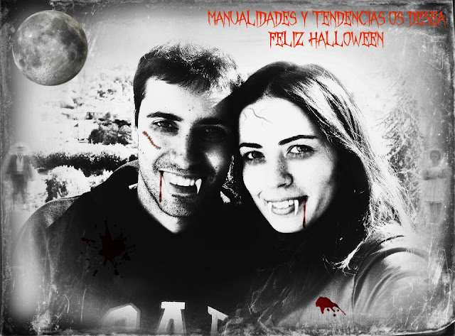 Foto trucada de vampiros