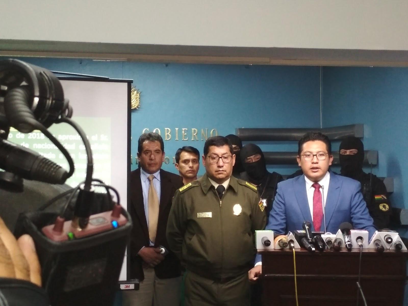Quiroga espera no volver a dar declaraciones sobre Blanco / VICEM. RÉGIMEN INTERIOR