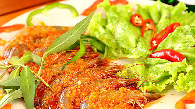 Ăn buffet giảm giá hải sản