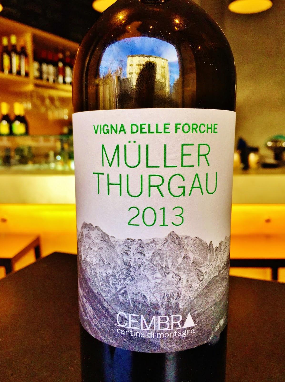 2013 Cembra Cantina di Montagna Muller Thurgau