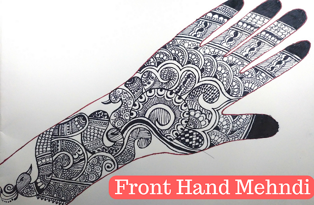 Simple Mehndi Designs For Front Hands Step By Step Art Meets Fashion