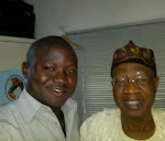 With APC National Publicity Secretary,Alhaji Lai Mohamend