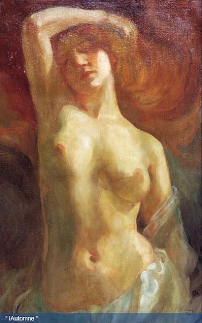 Khalil Gibran Painting L'automne