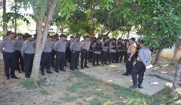 60 Personel Anggota BKO Polda Kalbar Tiba di Polres Sekadau