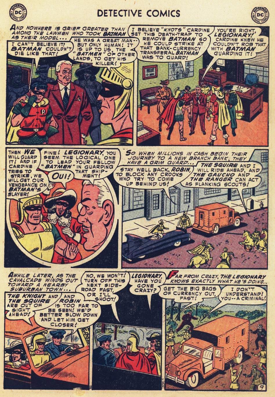 Read online Detective Comics (1937) comic -  Issue #215 - 11