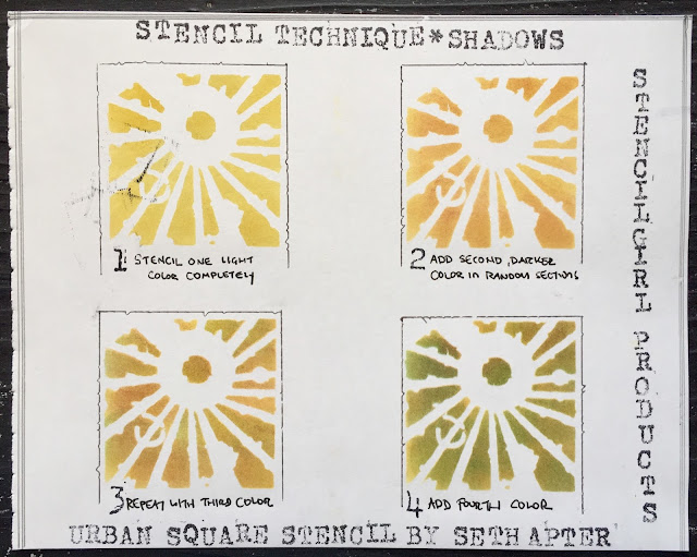 Seth Apter: Stenciling Techniques with StencilGirl stencils
