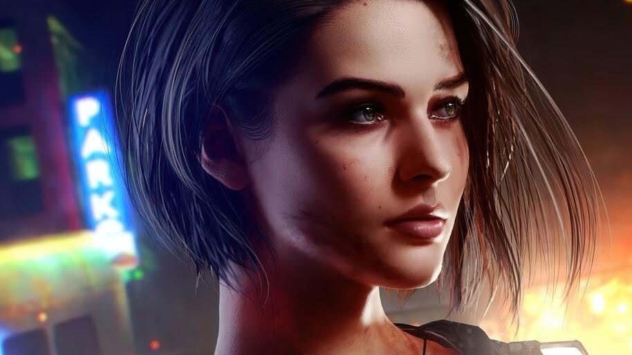 Jill Valentine, Resident Evil 3, Remake, 4K, #5.2196