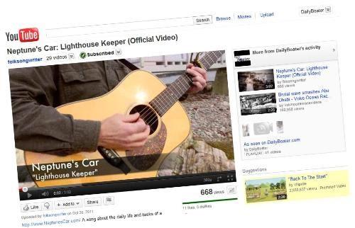 Lighthouse Keeper By Neptune S Car Lyrics