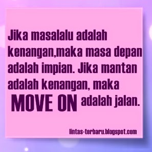 Gambar DP BBM Kata Kata Move On dari Mantan | Caption ...