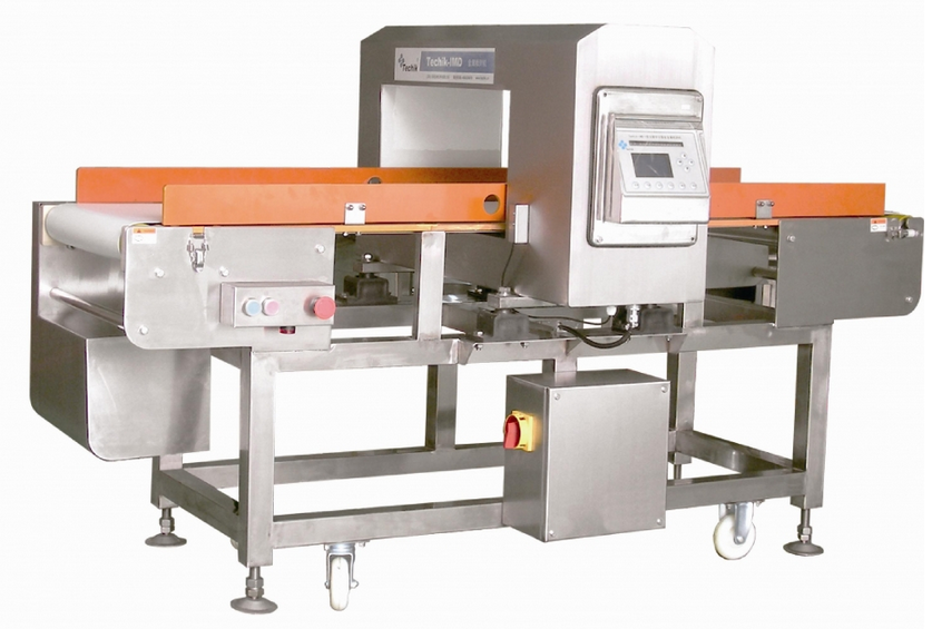 Metal detector untuk inspeksi metal dalam kemasan