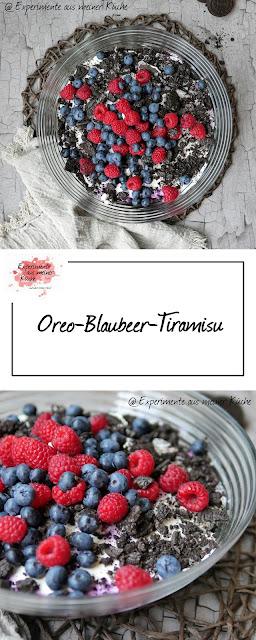 Oreo-Blaubeer-Tiramisu | Rezept | Dessert | Nachtisch