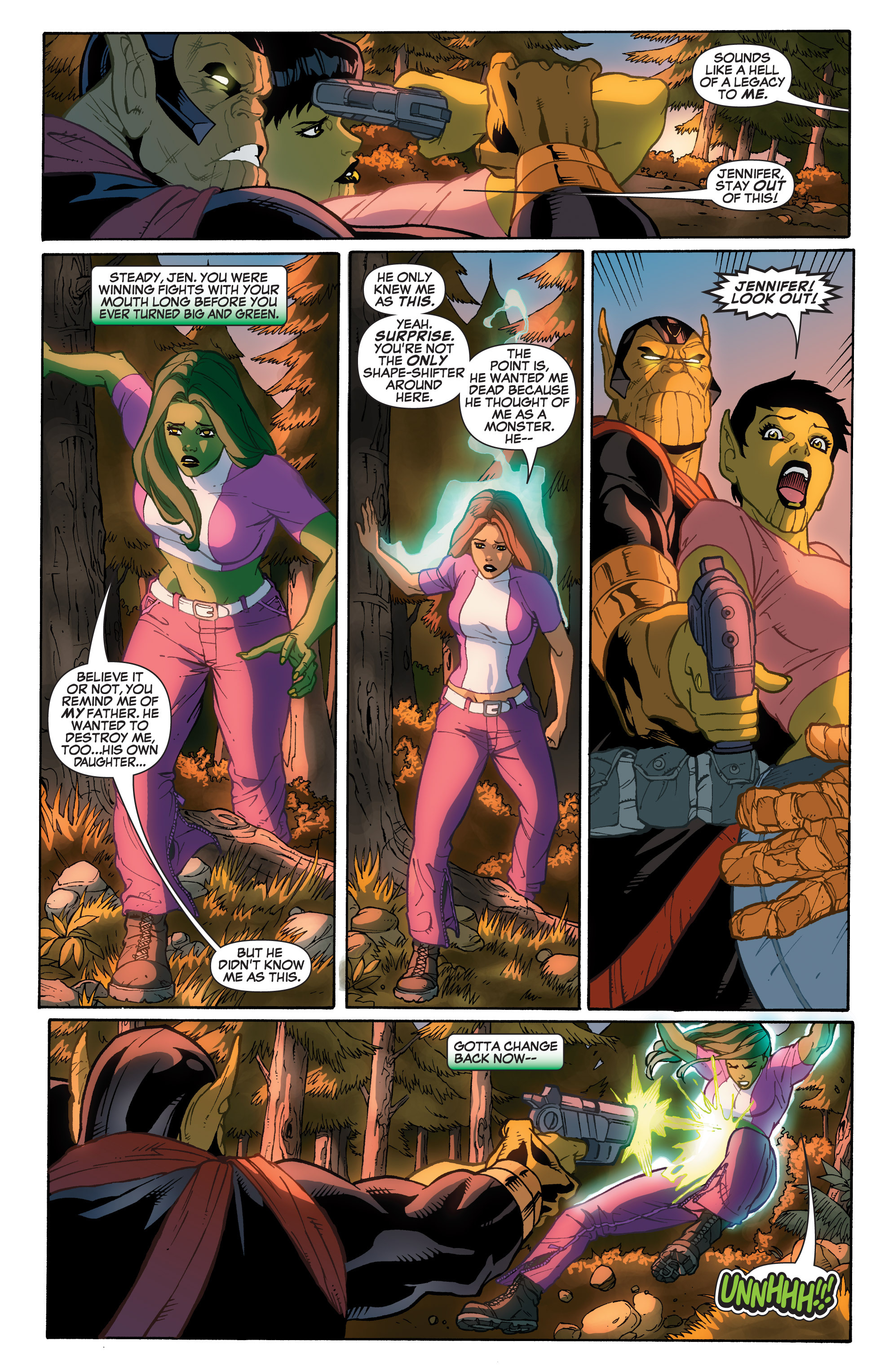 Read online She-Hulk (2005) comic -  Issue #33 - 20