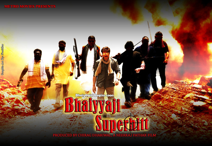 Prakash Raj, hindi upcoming movie Bhaiyyaji Superhitt New Upcoming movie Poster, release date, star cast 2016