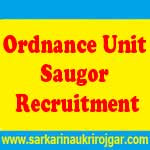 Ordnance Unit Saugor Recruitment