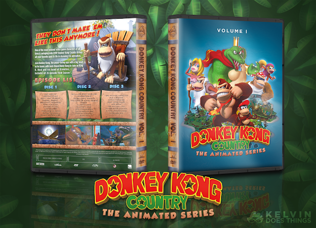 Capa DVD Donkey Kong Country The Animated Series