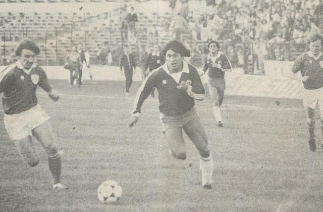 Chile y República de Irlanda en partido amistoso, 21 de mayo de 1982
