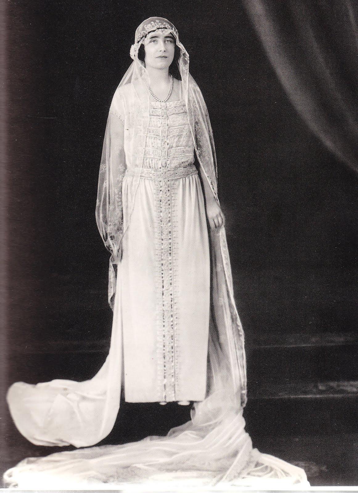 Elizabeth Queen Mother Royal Wedding Dress