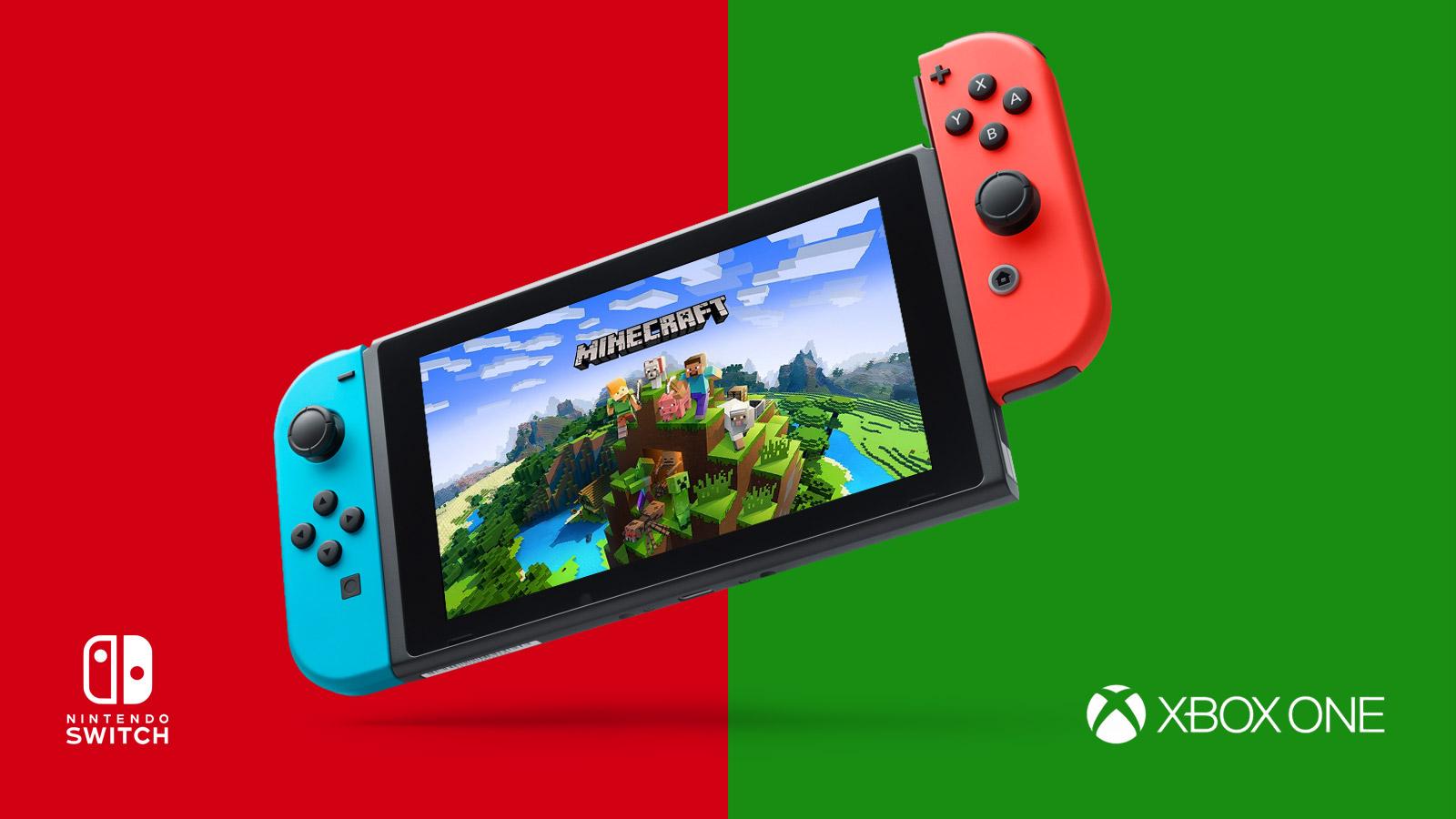 Minecraft Nintendo Switch Cross Play Gameslaught