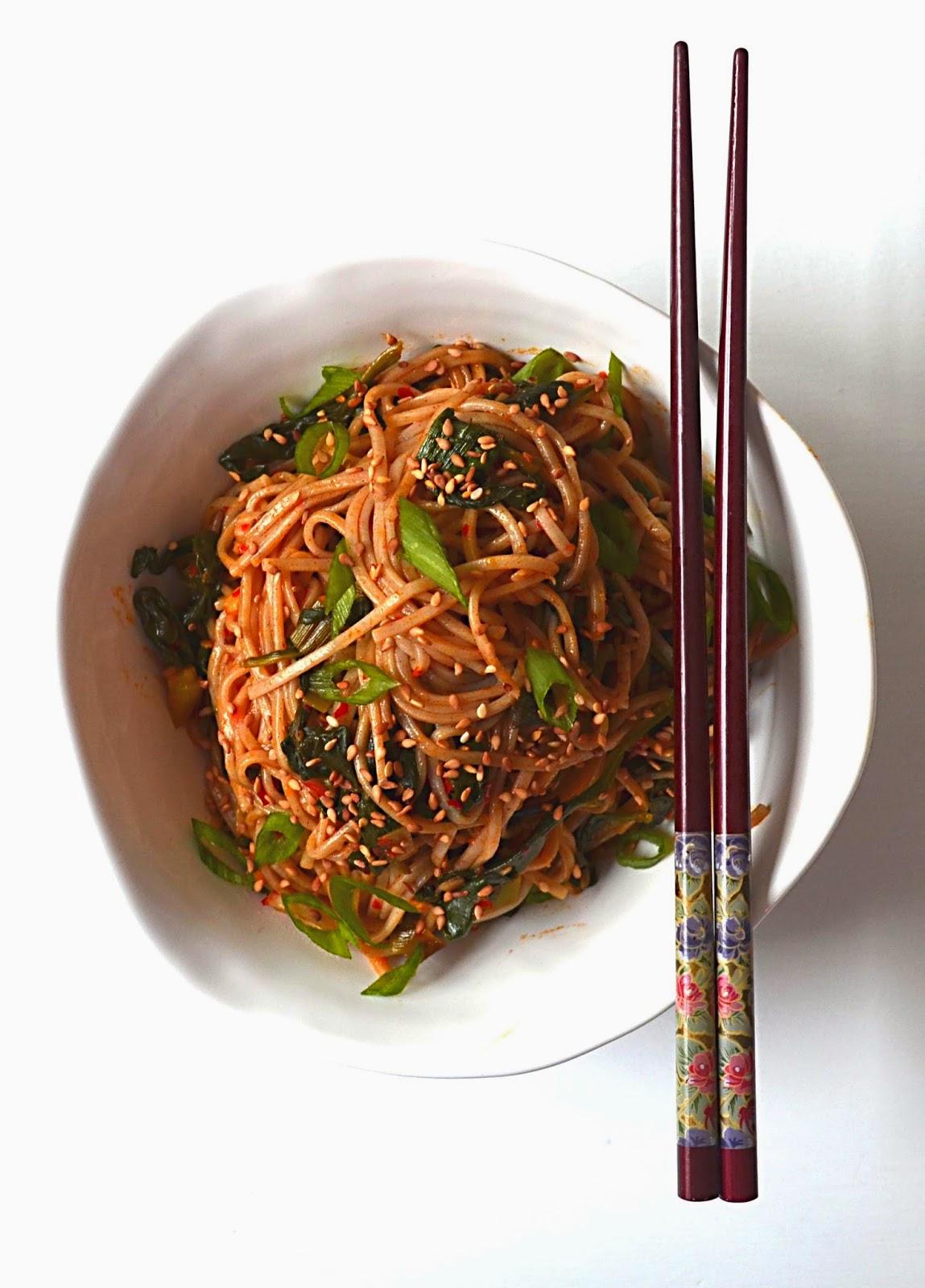 Sew French Korean Style Soba Noodles