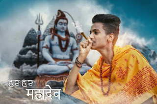 Shivratri Manipulation Editing | Picsart Manipulation Editing | Shiv Ji Picsart Editing|Maha Shivratri Photoshop Editing