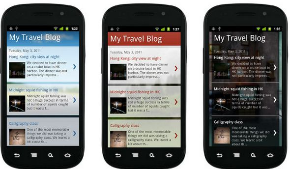 Customize Blogger Custom Mobile Template | Proxibiet SEO